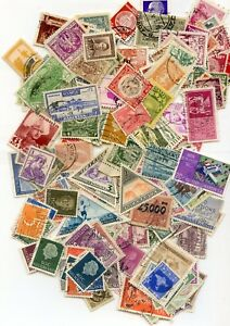 100-DIFFERENT-WORLD-WIDE-STAMPS-from-90-YEAR-OLD-COLLECTION