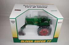 "SpecCast ""21st Mark Twain Toy Show"" Oliver Super 77 Farm Tractor 1:16 Mint W/Box"