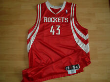 NBA Houston Rockets Road Game-Issued Jersey Trikot - COA