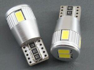 Lampadine-Led-Auto-Moto-T10-W5w-Canbus-6-Smd-5630