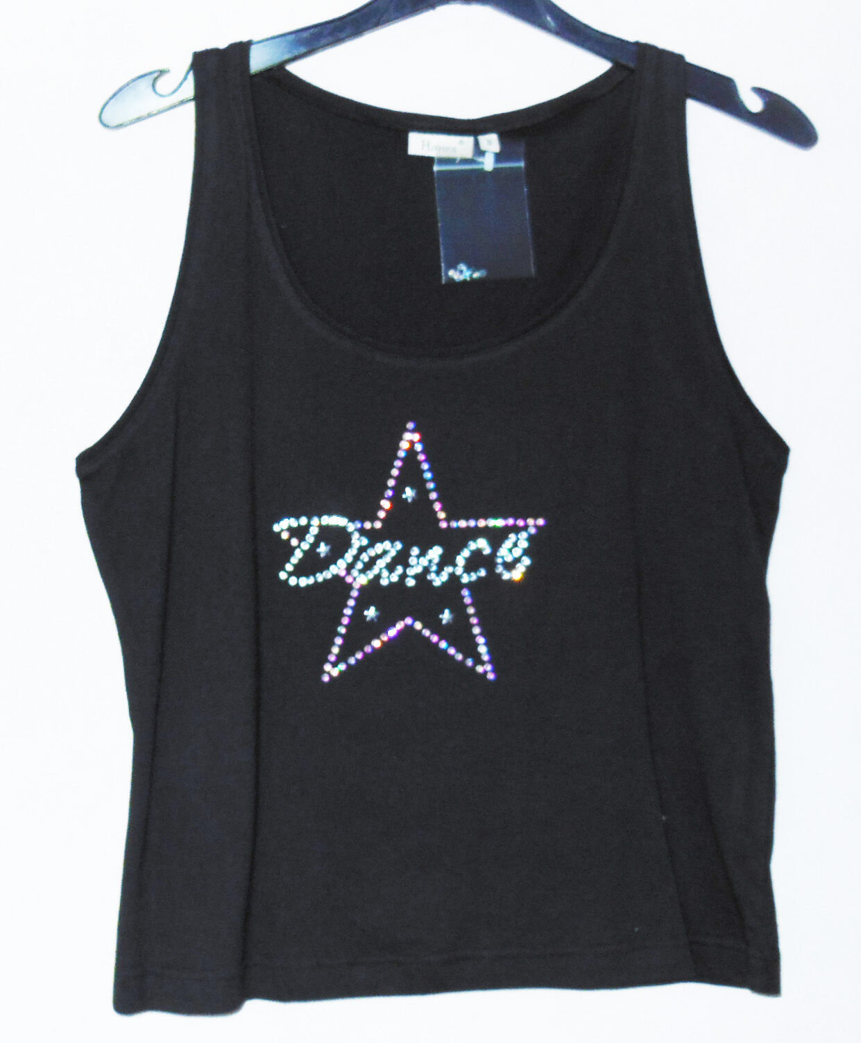 New Glitzy Dance Vest Tops - Ladies 8-10 & 12-14