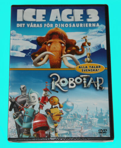 1 of 1 - ICE AGE 3 - ROBOTAR - DVD - NEW IN SEALED BOX