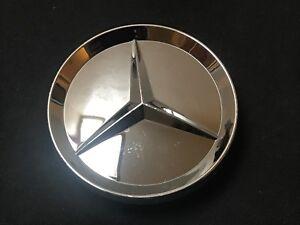 Mercedes-Custom-Wheel-Center-Cap-Diameter-2-1-2-034-All-Chrome-Finish-131K64