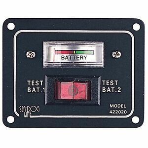 Battery test switch panel ebay for Electric motor test panel