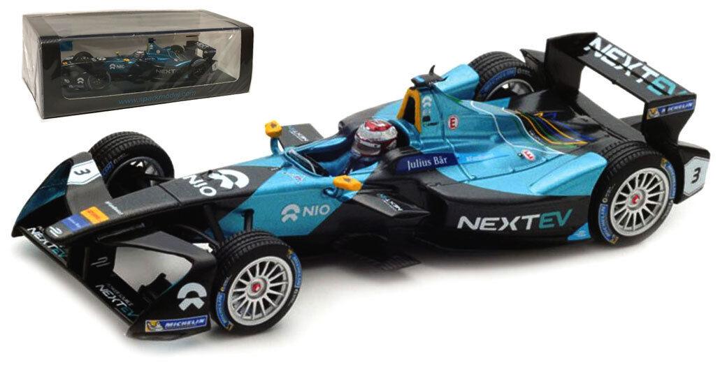 Spark S5918 nextev Nio Formula E Team Nelson Piquet Jr. escala 1 43