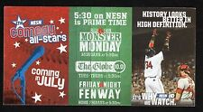 2008 Boston Red Sox Schedule--NESN/Time Warner Cable--David Ortiz