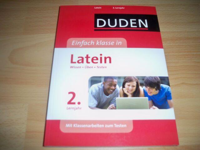 Duden Einfach klasse in Latein 2. Lernjahr: Wissen - Üben – Testen.