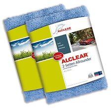 ALCLEAR® 2-er Set Ultra-Microfasertuch 2-SEITEN ALLROUNDER 820203U Fahrzeug