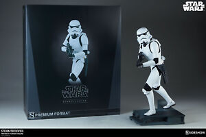 Star Wars Ep.   Statue Iv Stormtrooper Premium Format Statue Collection Sideshow