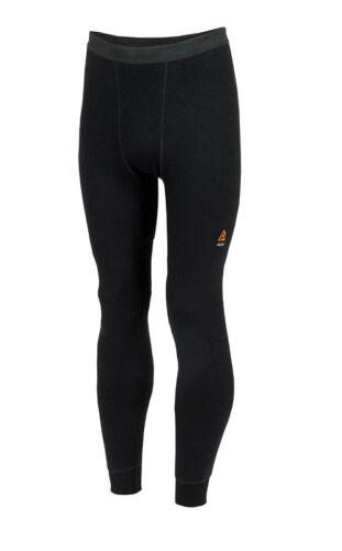Aclima Hotwool Long Pants Unisex Merino Unterwäsche jet black