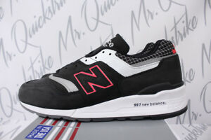 NEW BALANCE 997 SZ 11 MADE IN US COLOR SPECTRUM BLACK WITH WHITE ... 4c35d4cc08