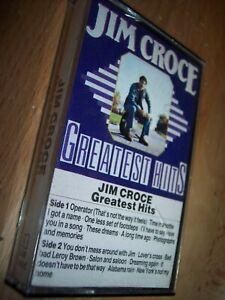 Jim Croce Greatest Hits Cassette on Flash