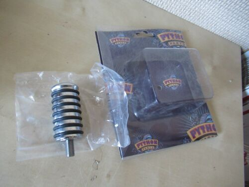BRAKE PEG  W// BOLT THROUGH GETS TWO 2  PYTHON MOTORCYCLE CHROME O-RING SHIFTER