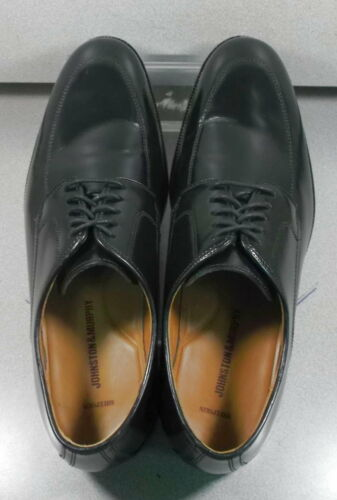 JohnstonMurphy 11 151775 Noir Homme Taille 5M Pf50 Cuir À Chaussures Lacets W9IEYeDH2b