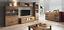 Living-room-furniture-set-glass-cabinet-Tv-unit-stand-display-LED-lights-shelf thumbnail 1