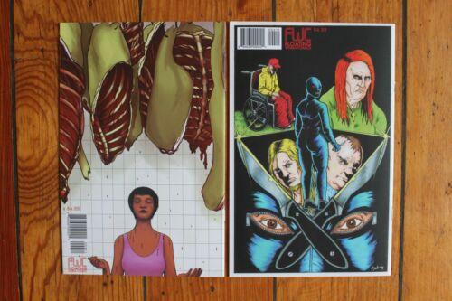 Slasher #4 /& 5 Charles Forsman Comics NM+ End of the F***ing World, Revenger