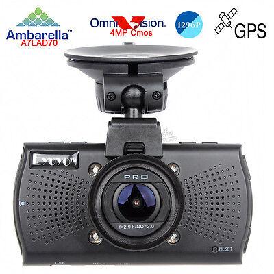 """Eyoyo Ambarella A7 1296P 2.7"""" автомобильный видеорегистратор ночного видения"""