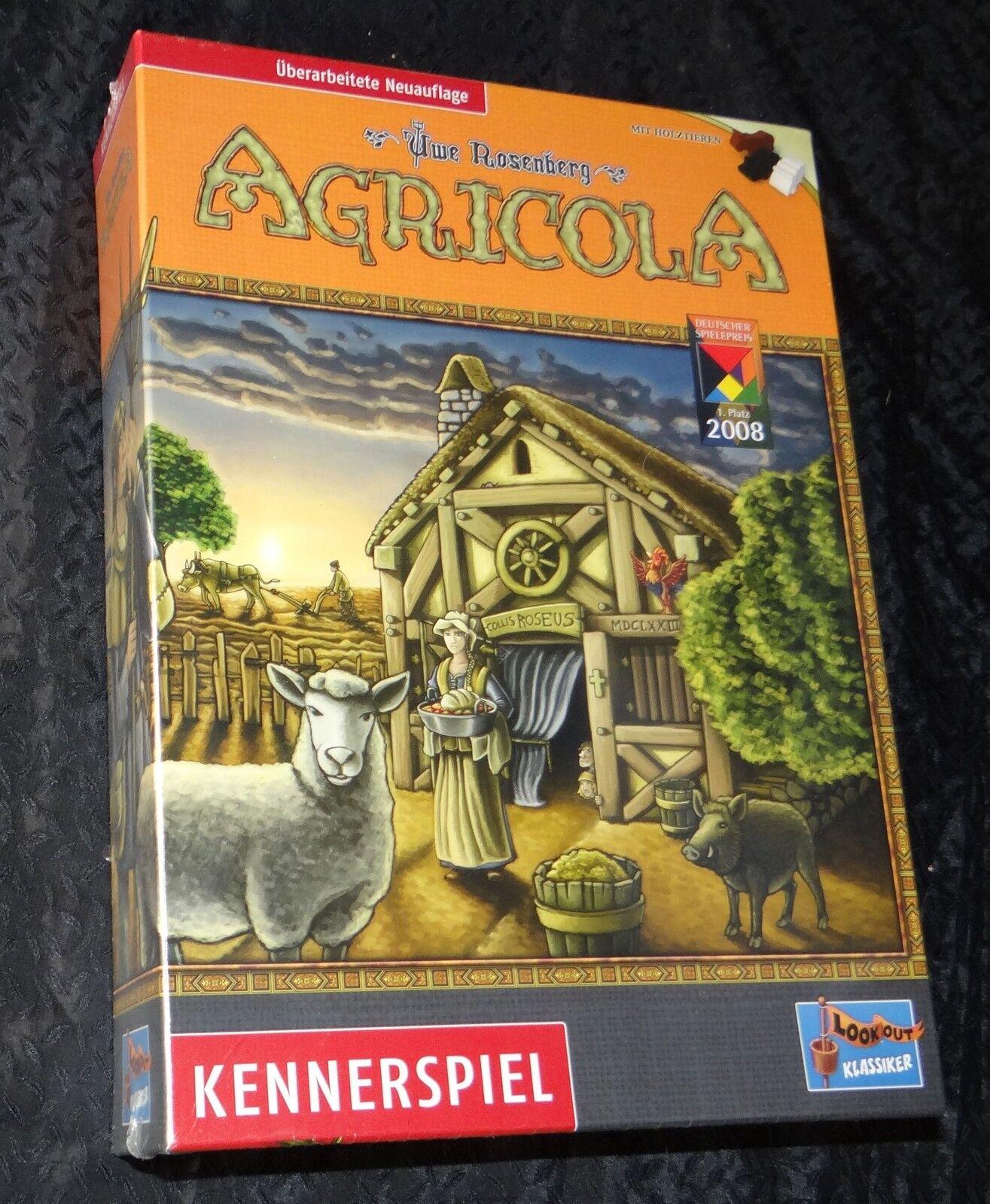AGRICOLA überarbeitete NEUAUFLAGE NEU OVP