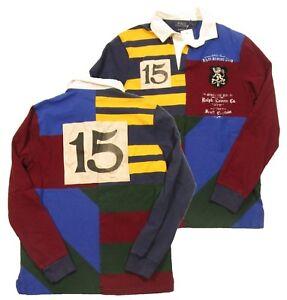 Ralph Lauren Mens Custom Slim Fit Rugby Polo Shirt