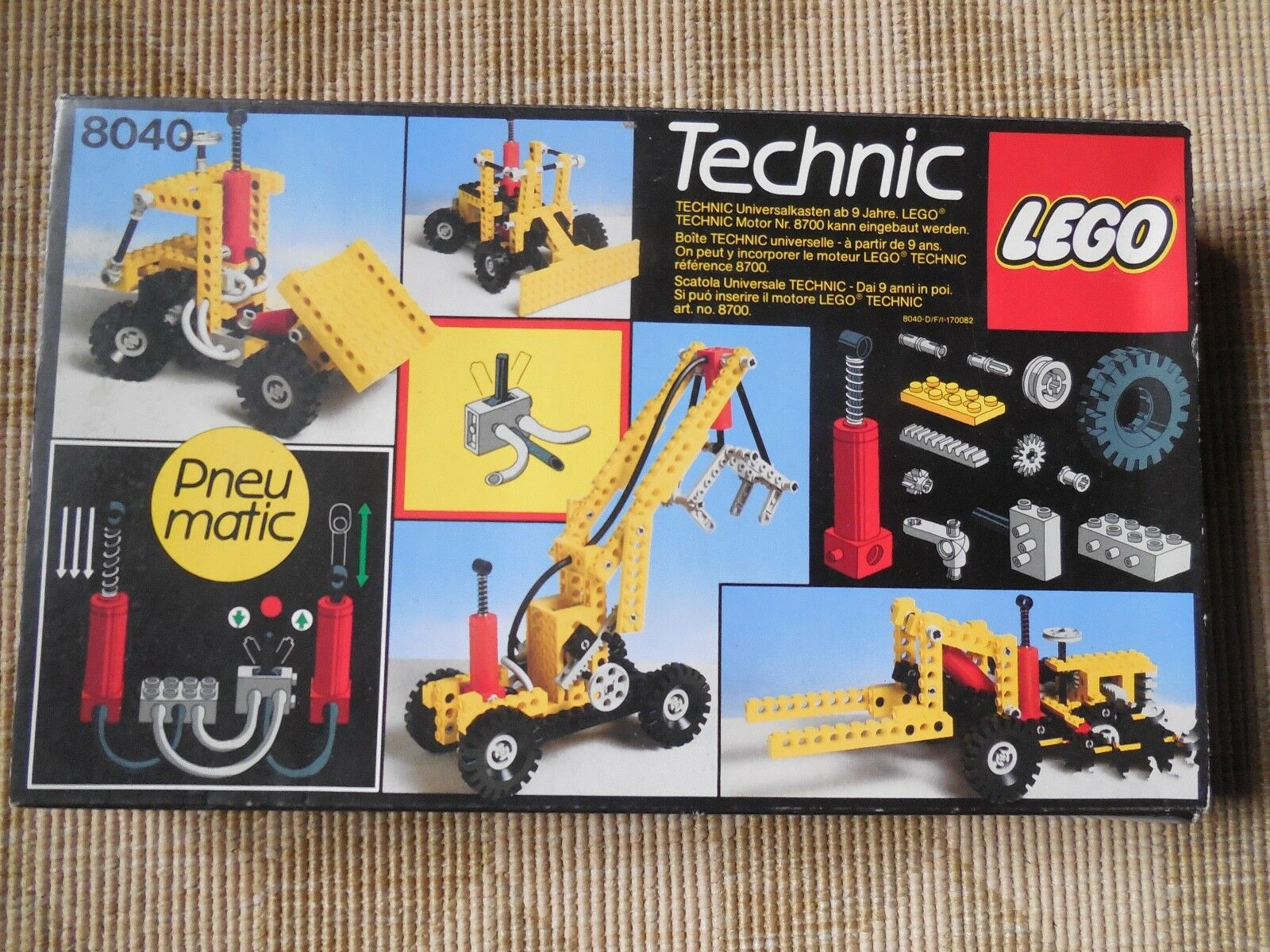 Lego Technic Set 8040 Pneumatic Truck