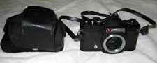 Vintage Black Gaf 35mm L-17 Camera with Strap & Case