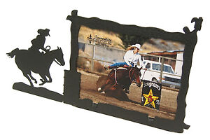 Barrel-Racer-Going-In-Racing-Rodeo-Picture-Frame-3-5-034-x5-034-3-034-x5-034-H-Race