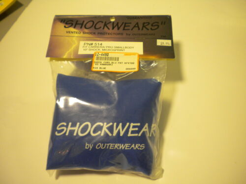 Outerwears Shock Covers FITS 03 KAW KFX700 NOS Blue Front