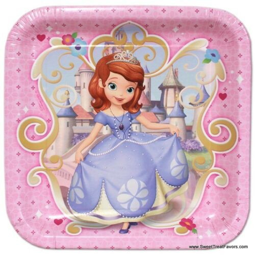 Sofia The First PLATES LUNCH Birthday Decoration Party Supplies Favors Princess