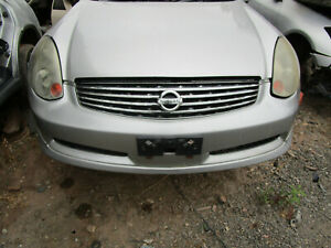 Nissan-Skyline-V35-Coupe-Front-Bumper-Needs-Repairs