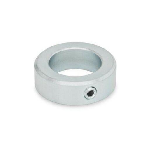 brüniert Innendurchmesser 20mm Innensechskant Stellring