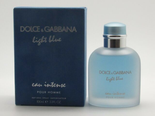 3102b6a4bdf530 Dolce   Gabbana Light Blue Pour Homme Eau Intense Natural Spray ...