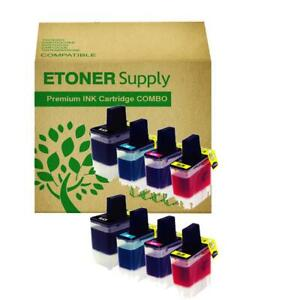 8-pk-LC41-B-C-M-Y-Combo-Ink-Cartridges-for-MFC-640CW-820CW-3240C-3340CN