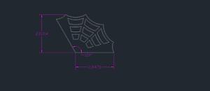 "Weld Gusset 4.5/"" x 4.5/"" Legs 1//4/"" Mild Steel 120 Degree Spider Web Gusset"