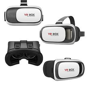 Vr Box 3d Gafas De Realidad Virtual Plastico Iphone Android Video