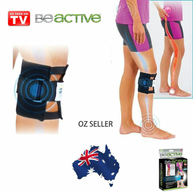 1547a43f8f BeActive Knee Brace leg Back Pain, As Seen On TV, Be Active Pressure Point