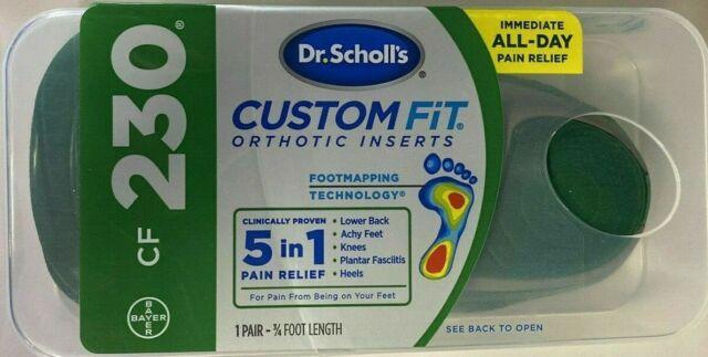 Dr. Scholl's CF230 Custom Fit Orthotic