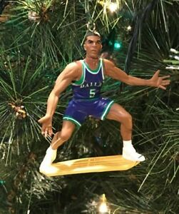 best website 84f09 68434 Details about DALLAS MAVERICKS CHRISTMAS TREE ORNAMENT JASON KIDD blue  jersey not hallmark
