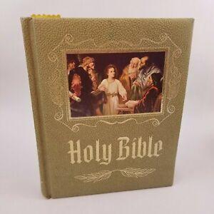 Vintage-Holy-Bible-Master-Reference-Edition-Heirloom-1971-Red-Letter-KJV