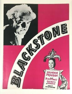 Vintage-1940s-Harry-Blackstone-Sr-Magician-Souvenir-Program-Illustrated