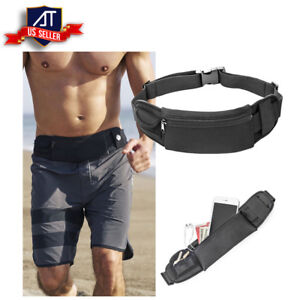 4562b4b1d836 Unisex Running Belt Water-Resistant Waist Pack Phone Holder Fitness ...
