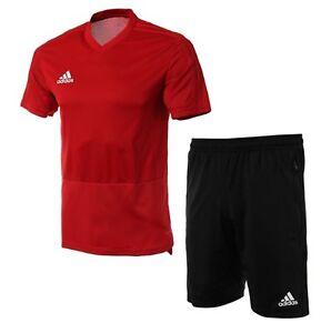 Details about Adidas Men Condivo 18 Suit Set Red Black Soccer Jacket Pant Jersey CG0353-CF3676