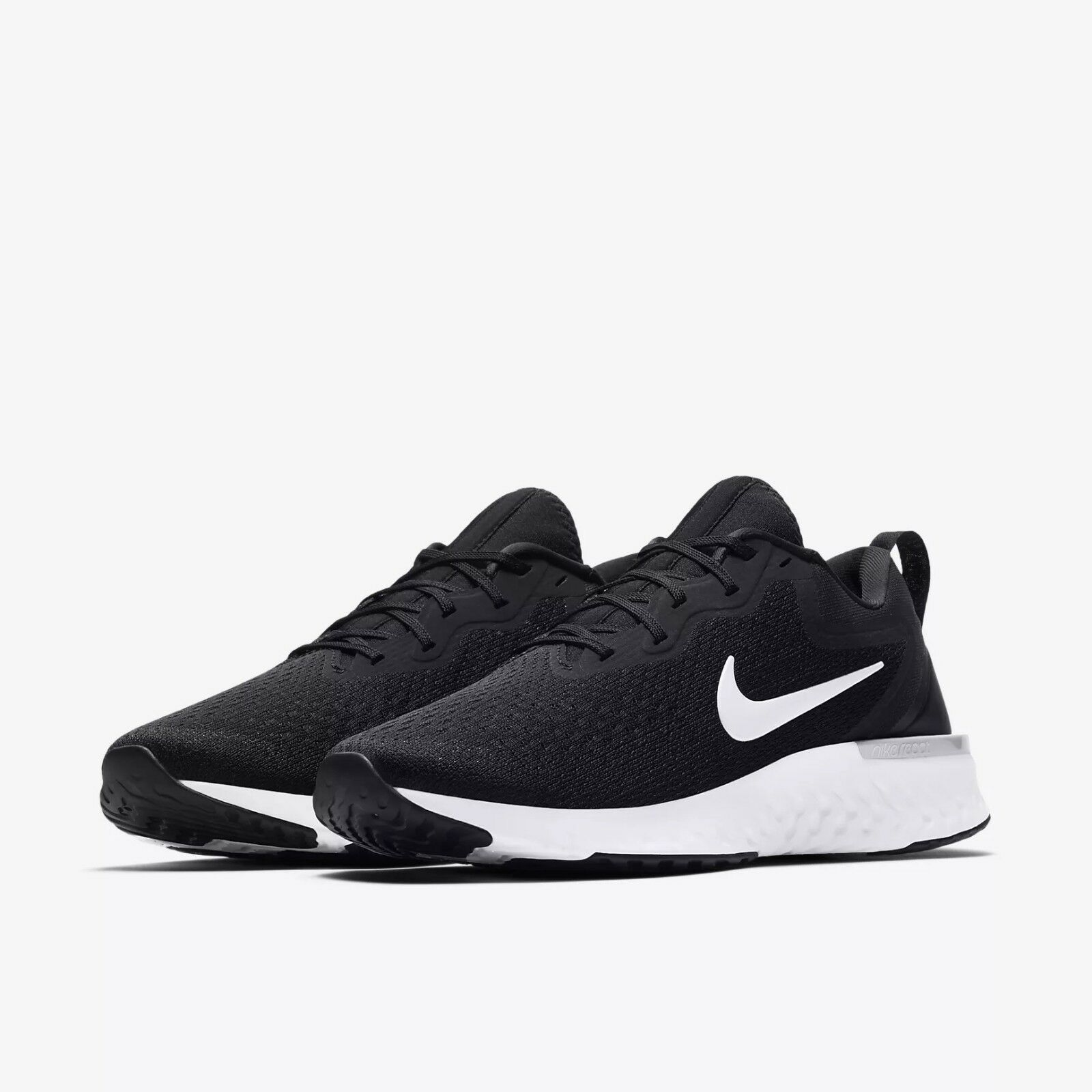 AO9819-001 Men's Nike React Odyssey Running Black Grey-White Szs 8-13 NIB