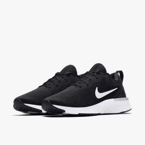 AO9819-001 Men/'s Nike React Odyssey Running Black//Grey-White Szs 8-13 NIB