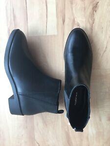 san francisco 4fd0d c3b71 Details zu Pull&bear Stiefeletten Chelsea Boots Schwarz Gr.39 Neu