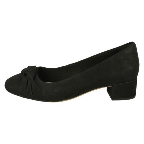 Sal Berenjena Orabella Clarks De O Negro Bajo Nubuck Mujer Zapatos Lily A1Unvxx