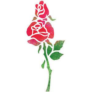 Stencils For Painting Airbrush Craft Stencil Template Rose