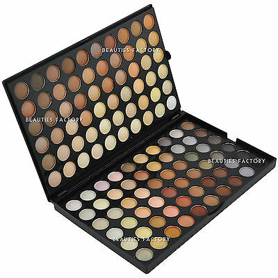 Beauties Factory 120 Color Neutral Warm Nude Eyeshadow Makeup Palette 89D