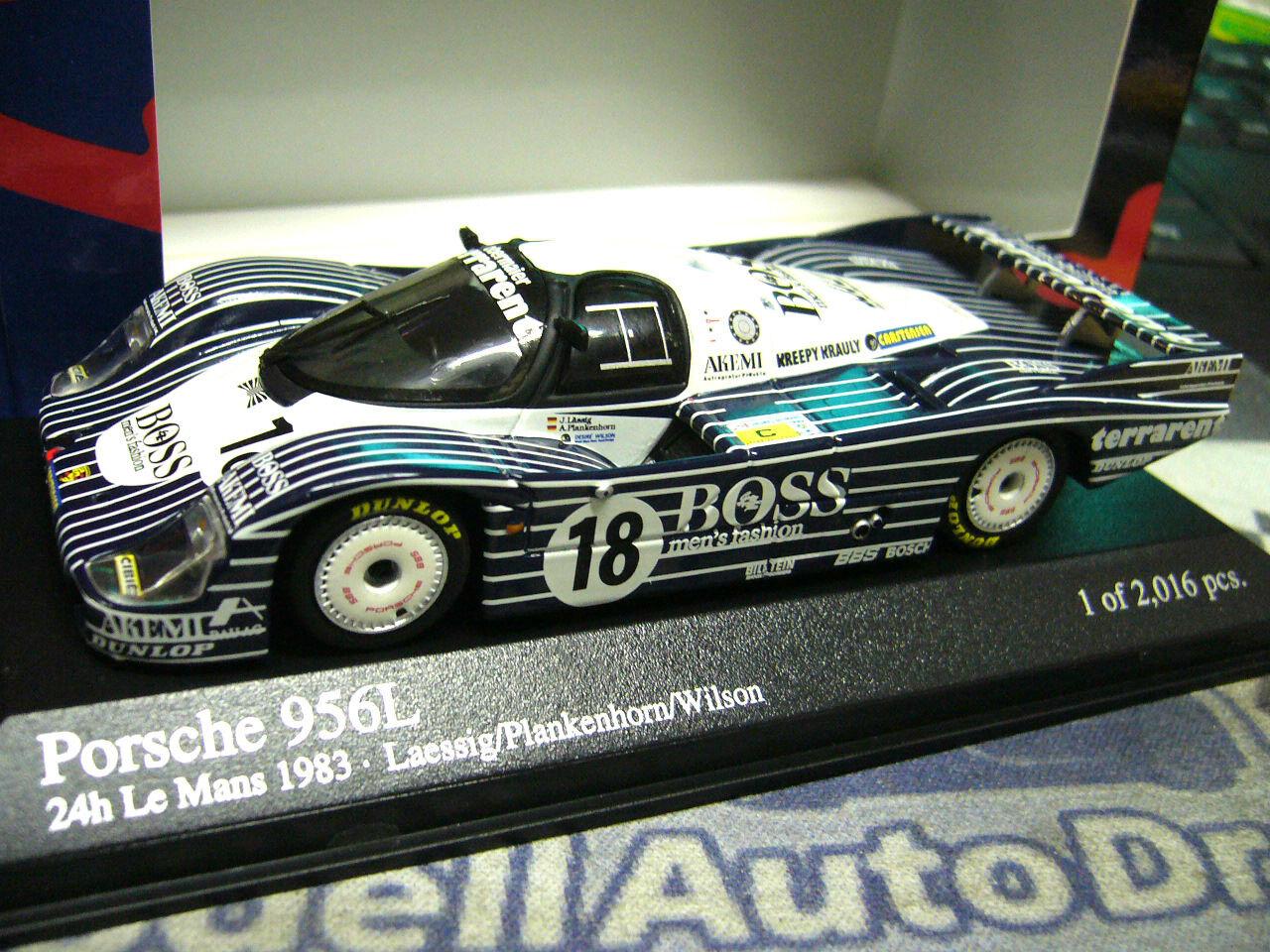 PORSCHE 956 L Obermair  18 18 18 Boss Le Mans Lässig Minichamps PMA 1 43  | Großartig  7e6ce7