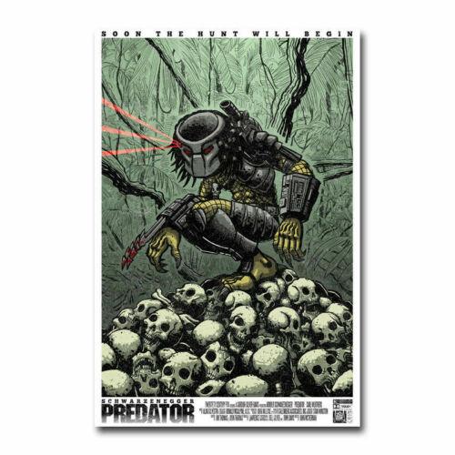 19I The Predator Hot Movie Print Art Silk Poster