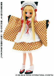Azone-Pure-Neemo-Kimono-Maid-Nekomimi-Kawaii-Doll-Cosplay-Dress-Ruruko